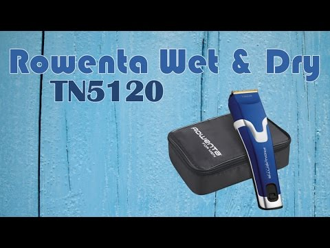 Cortapelos Rowenta Wet   Dry TN5120 Review en Español - YouTube 3fd46722412