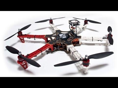 Hexacoptero DJI F550 para fotografía y vídeo aéreo. Doblejotafoto