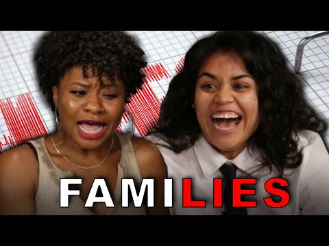 Parents Take A Lie Detector Test With Their Kids
