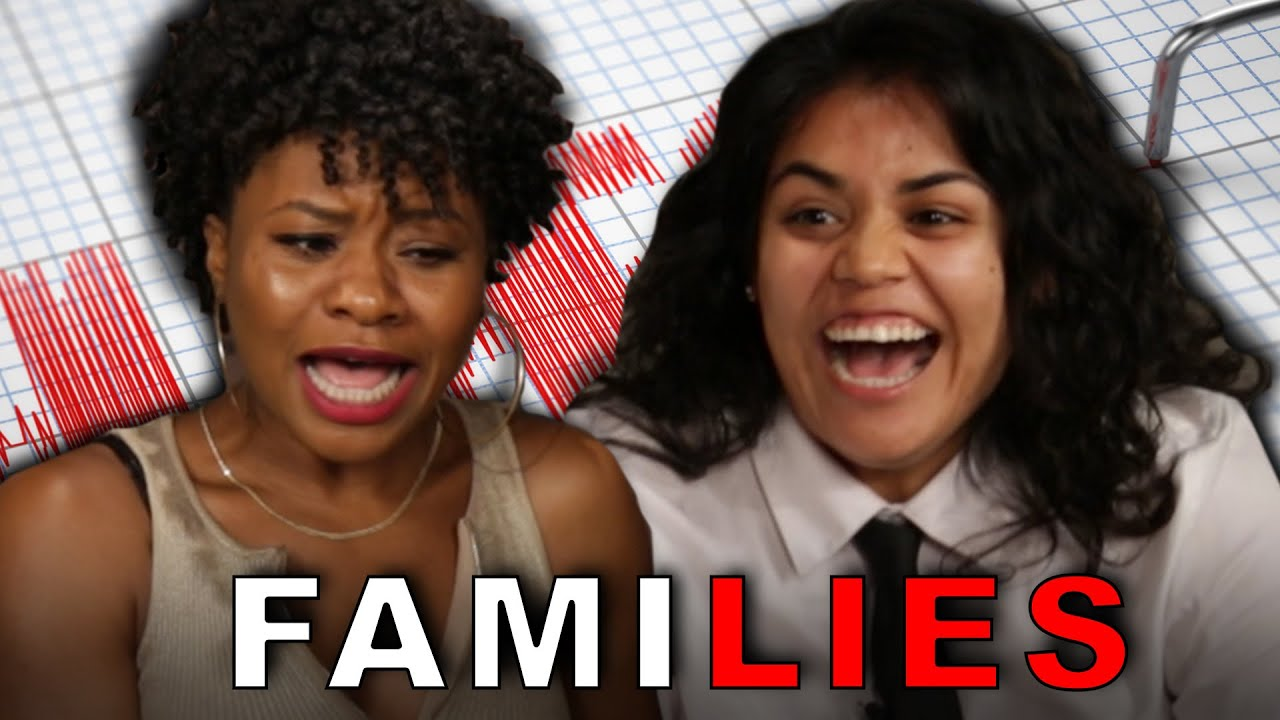 Parents Take A Lie Detector Test With Their Kids YouTube - This is what happens when kids hook up their moms to lie detector