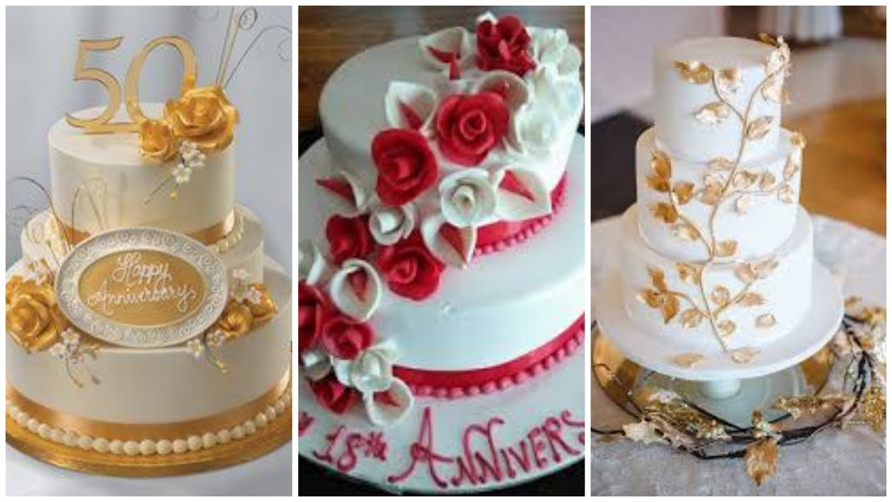 Happy Anniversary Cakes Wedding Anniversary Cakes Beautiful