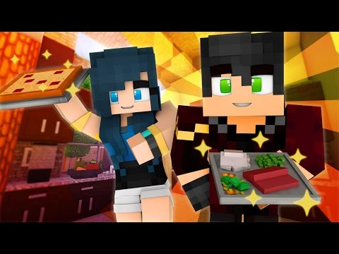 Minecraft Cooking Challenge - THE FOOD BATTLE!! (Minecraft Roleplay)