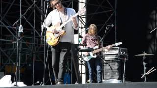 Hozier - Soundcheck Pistoia Blues 7-07-2015 HD
