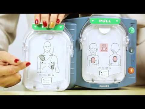 Philips HeartStart OnSite Infant Child Pediatric Pads