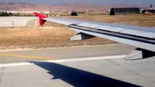 Turkish Airlines Take Off Konya Atatürk Airport Türk Hava Yolları