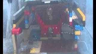 Lego Titanic Grand Staircase sinking