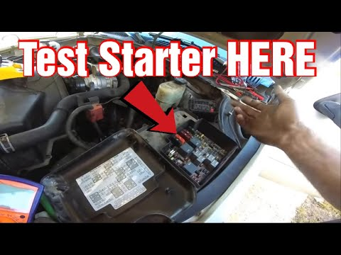 how-to-test-a-starter-without-having-to-touch-the-starter.