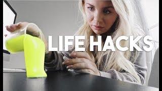 Therese Testar: LIFE HACKS #5 (i samarbete med Teknikföretagen)