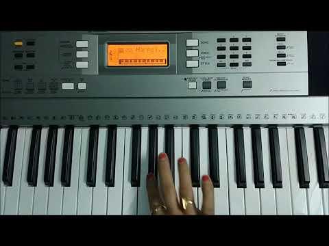 Nazrein Mili Dil Dhadka - Raja 1995 piano cover | Sujata Instrumental