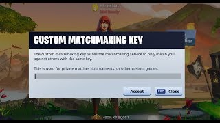 Custom Matchmaking in Fortnite (Code NIRMAL)