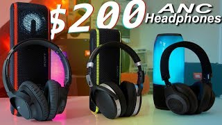 Top $200 ANC Headphones - Sony WH-CH700N vs Sennheiser 4.50BTNC vs JBL E65BTNC
