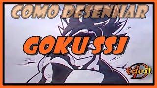 Como Desenhar Goku SSJ | How To Draw Goku SSJ (Dragon Ball Z)