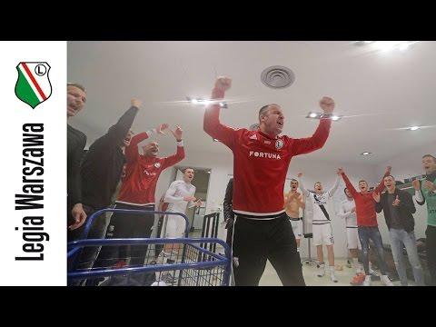 Tak Legia świętowała po meczu!