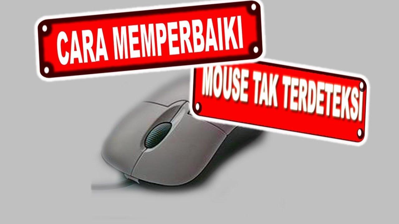 Cara Memperbaiki Mouse Tak Terdetekssi Laptop Youtube