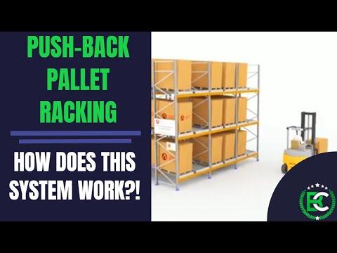 Push-Back Pallet Racking | 🚚 Pallet Racking Suppliers 🚚 | Push Back Dynamic Pallet Racking Systems - Видео онлайн