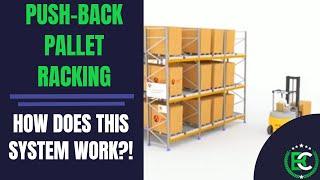 Push-Back Pallet Racking | 🚚 Pallet Racking Suppliers 🚚 | Push Back Dynamic Pallet Racking Systems