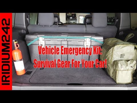 My Vehicle Survival And Emergency Gear