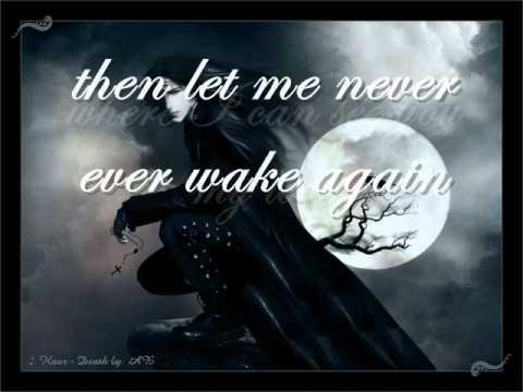 Evanescence, Before The Dawn wlyrics