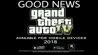 GTA 4 Android Release Date Confirm 2018 Must Watch