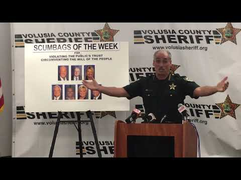 Volusia County Sheriff Mike Chitwood and Amendment 10