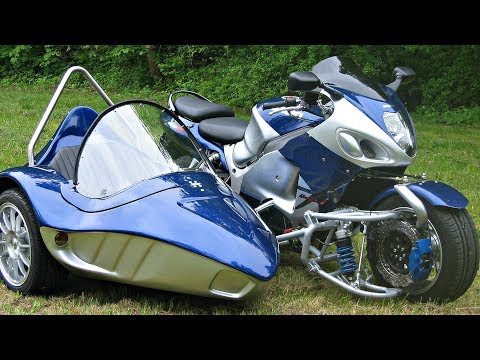 😵 Мотоциклы с Коляской ! Современные vs Классика 😎!
