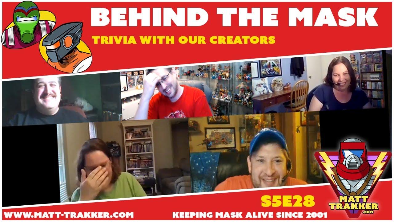 M.A.S.K. Trivia with our Creators - S5E28