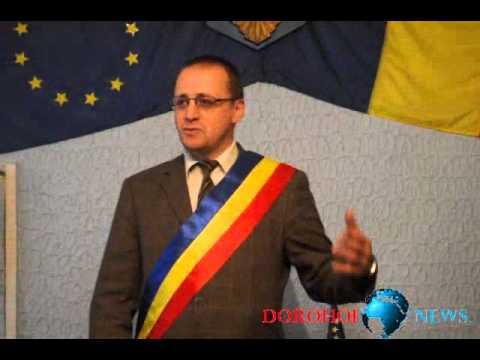 Vaculesti   Primar Sorin Ginga   premiere Giorgiana Cucu campioana mondiala