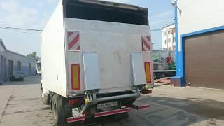 видео ремонт будки на грузовиках