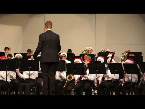 Spillane Middle School Bands: Winter Celebration - Symphonic Winds - Dec 19, 2017- Sleigh ride