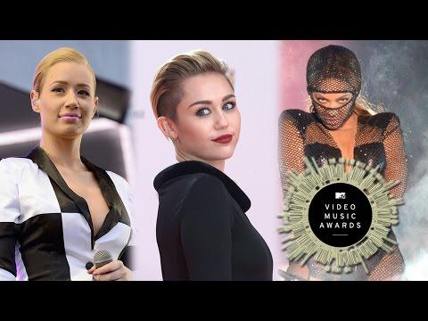 MTV Video Music Awards 2014- Beyonce, Iggy Azalea & Eminem Mas Nominados