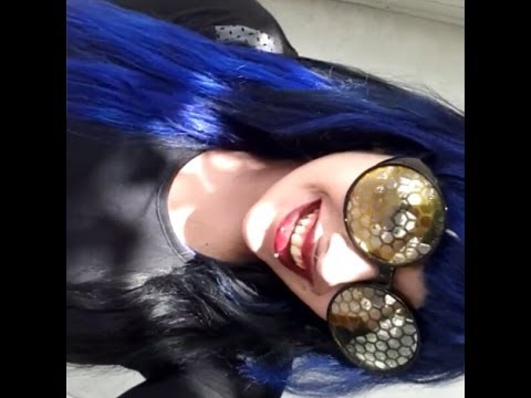 Dying my hair extensions half blue half black ft bellami hair dying my hair extensions half blue half black ft bellami hair extensions pmusecretfo Choice Image