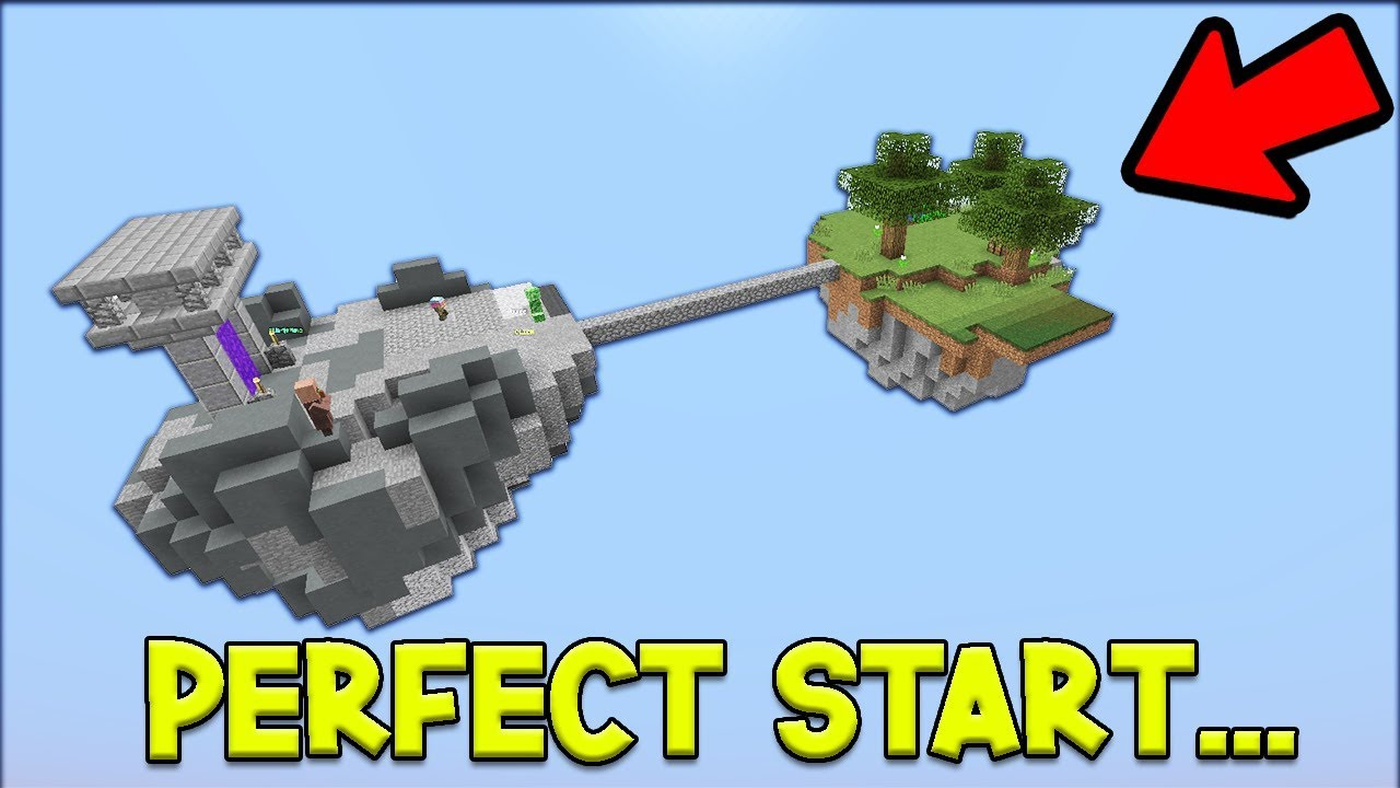 The Perfect Start + OP MINION! - Hypixel Skyblock
