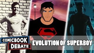 Evolution of Superboy in Cartoons, Movies & TV in 9 Minutes (2018)