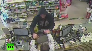 Man robs pharmacy with Coca-Cola can in Italy