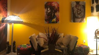 Afrocentric Living Room Refresh