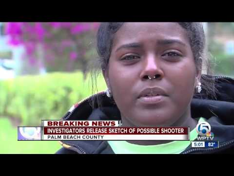 Investigators release sketch of possible shooter in Boynton Beach