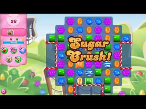 Candy Crush Saga Level 3246 NEW ELEMENT - The Candy Cane Fence