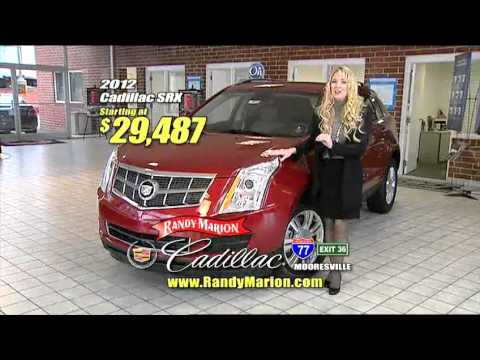 Cadillac SRX- 95 INSTOCK at Randy Marion Cadillac - YouTube