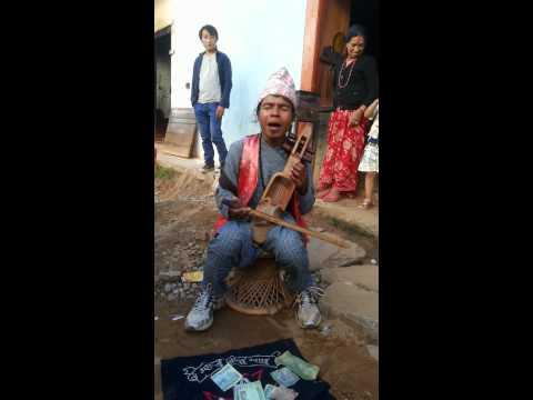 Gandharba presenting in Bhojpur