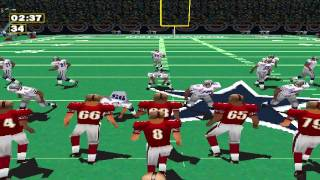 NFL GameDay 98 49ers vs. Cowboys [HD]