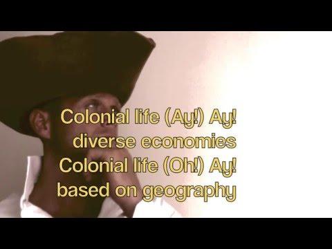 Lyrics Colonial Life