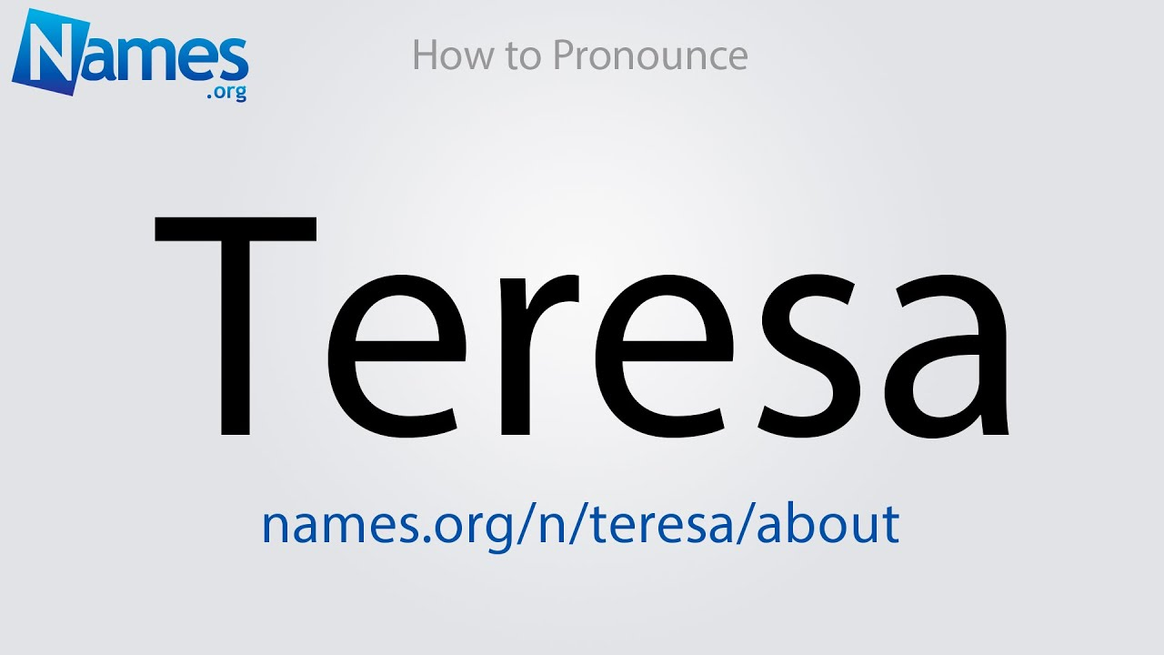 What Does The Name Teresa Mean?