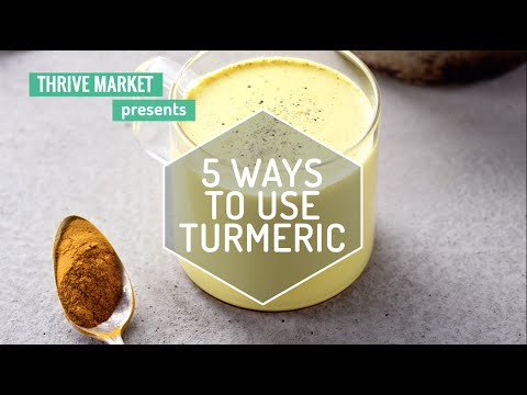 5 Ways to Cook with Tumeric
