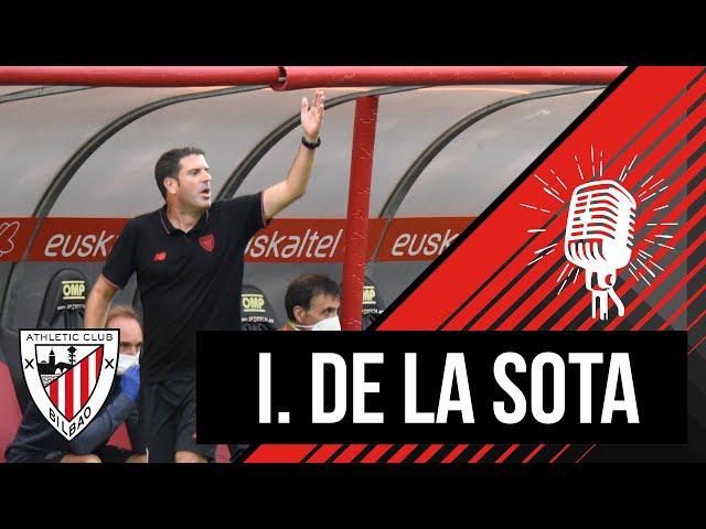 🎙️ Imanol de la Sota I post Bilbao Athletic 0-1 Unionistas CF l Primera RFEF 2021-22 – 4. J