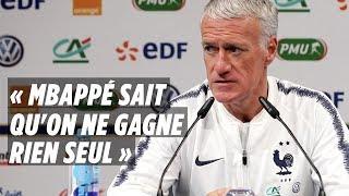 Deschamps: «Kylian Mbappé sait qu'on ne gagne rien seul»