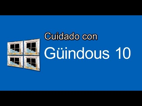 Cuidado con el Windows 10