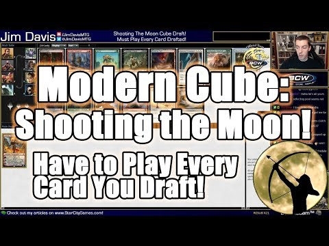 Shooting The Moon: You Must Play Every Card You Draft!