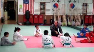 2 year old taekwondo kid............nathanboy