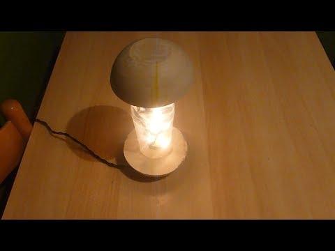 Betonlampe ** Concrete Lamp