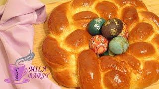 """Армянский пасхальный хлеб """"Катнаунц""""   Армянская национальная кухня   Armenian Easter bread Catnounz"""